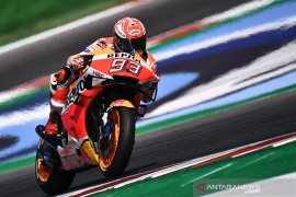 Hasil kualifikasi GP Aragon, Marquez rebut pole position