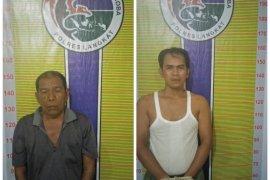 Satresnarkoba Polres Langkat tangkap dua pemilik ganja 500 gram