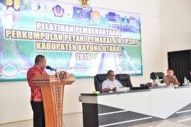 Wabup Kayong Utara buka pelatihan kelompok petani pemakai air