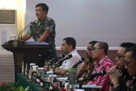 Karhutla Riau ditinjau  Kepala BNPB-Panglima TNI