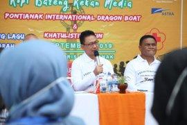 """500 tamu asing siap meriahkan  """"Pontianak International Dragon Boat"""""""