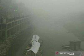 Balita terdampak kabut asap