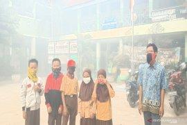 Kabut asap ganggu proses belajar di sekolah