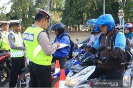 18.325 pengendara ditilang  Polda Kalsel  selama Operasi Patuh