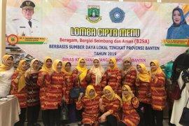 "PKK Kecamatan Benda juara 2 lomba menu bergizi konsep ""lunch box"" se-Banten"