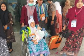 339 orang haji Sumut masih berada di Mekkah