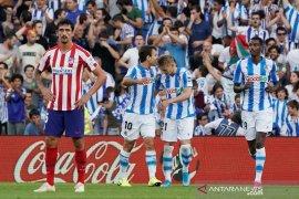 Atletico Madrid terperosok di markas Real Sociedad
