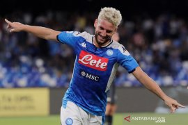 Dries Mertens menangkan Napoli atas Sampdoria 2-0