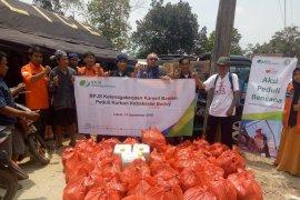 BPJS Ketenagakerjaan bantu 38 KK warga Baduy korban kebakaran