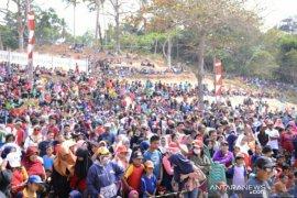 Ribuan warga Bangka Barat ikuti jalan sehat PT Timah