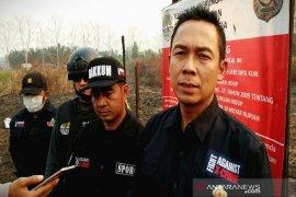 Kementerian LHK menyegel lokasi kebakaran lahan perusahaan di  Kalteng