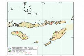 Kata BMKG, ada 16 titik panas di Kabupaten Kupang