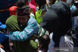 Jamaah haji kloter terakhir debarkasi Surabaya tiba