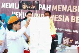Ibu Negara harapkan Kali Bahagia di Bekasi bersih dari sampah