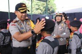 31 polisi cilik asal Kediri berkompetisi di tingkat Jatim