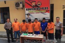 Polisi menangkap enam tersangka pelaku penyalahgunaan narkoba di Rejang Lebong