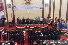 Sah, 50 anggota DPRD Kota Medan telah dilantik