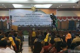 Gubernur Kalbar hadiri pelantikan anggota DPRD Kota Pontianak