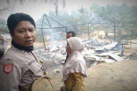 Musibah kebakaran tewaskan suami istri