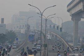 Kualitas udara di Palembang kembali memburuk