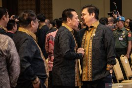 Hindari perpecahan, Bamsoet-Airlangga sepakat turunkan tensi politik di internal Golkar