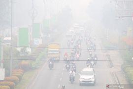 Kabut asap pekat, Dharmasraya liburkan sekolah