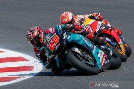 Bukan Rossi atau Dovizioso, tapi Quartararo lah rival terberat Marquez