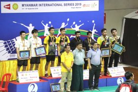 Di Myanmar International Series 2019, Indonesia raih dua gelar juara