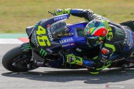 Kurang kecepatan, Rossi gagal rengkuh podium di Misano