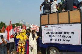 Elemen masyarakat apresiasi DPR sahkan revisi UU KPK