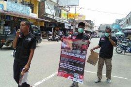 ACT Aceh-MRI ajak siswa SMA Aceh Utara peduli bencana asap di  Riau