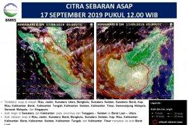 Sebaran asap karhutla terdeteksi hingga ke Singapura dan Malaysia