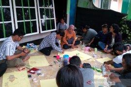 Kanopi Bengkulu gelar workshop stencil jelang jeda iklim