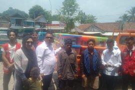 PMI Banten bantu korban kebakaran di Baduy