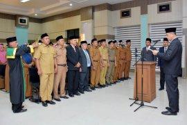 Upaya capai target pemerintah, Pemkot Sabang mutasi 71 pejabat