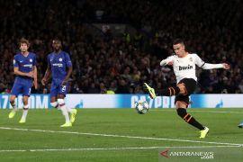 Valencia sukses permalukan Chelsea di Stamford Bridge