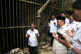 Alami kekeringan bupati minta polisi tindak tegas penebangan  hutan