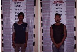 Polisi Pangkalan Brandan tangkap dua pemilik sabu-sabu