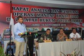 Wakil Ketua Sementara DPRD hadiri evaluasi penyelenggaraan pemilu 2018