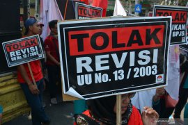 Demo, puluhan ribu buruh dari 10 provinsi akan ujuk rasa di DPR