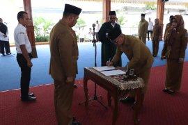 Sekda Kota Binjai lantik pejabat baru di lingkungan OPD Binjai