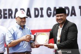 Abdillah Onim terima piagam dari Palestina untuk Indonesia