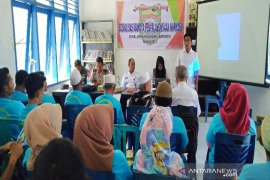 Kelurahan Gunung Baringin gelar sosialisasi penyalahgunaan Narkoba