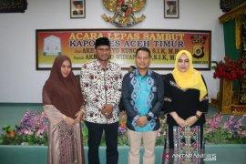 Lepas sambut Kapolres Aceh Timur berlangsung meriah