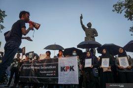 Demo mahasiswa tolak pelemahan KPK ricuh