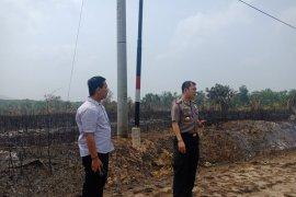 Kapolres Bangka Barat imbau warga cegah bakar lahan