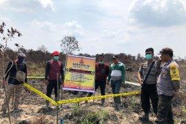 Karhutla Riau - Polisi tangkap kakek terduga pembakar lahan di Inhil