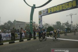 Tour de Siak, Pebalap Malaysia juarai Etape pertama
