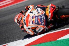 Marquez melesat FP1 GP Aragon