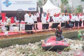 Bantaran Sungai Cipakancilan Bogor akan dijadikan taman